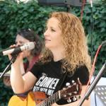 Musikalische Einlage von Christina Rommel