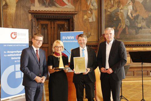 Preisverleihung im Erfurter Rathaussaal