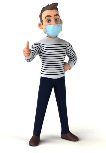 Bitte Mund-Nasen-Schutz benutzen!